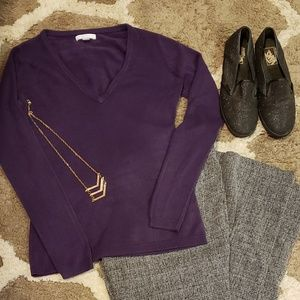 New York and Company V-Neck Sweater